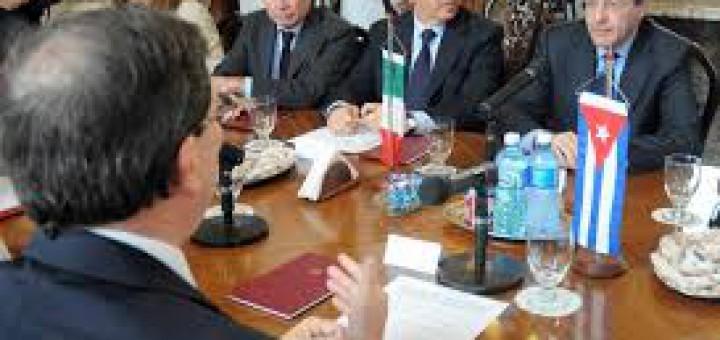 Nuevo Capitullo Cuba-Italia