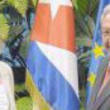 Raul y Ministra exteriores UE 2