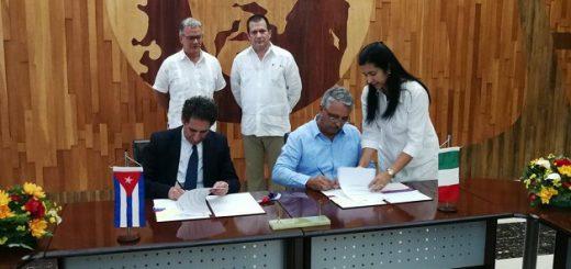 firma Cuba-Italia CITMA